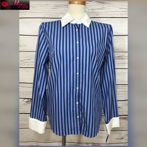 Button Up Nautica Striped Shirt